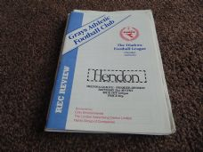 Grays Athletic v Hendon, 1992/93